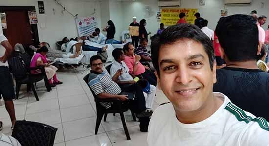 Blood donation image